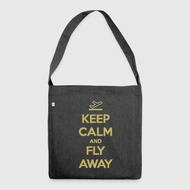 Fly Away - Shoulder Bag made from recycled material