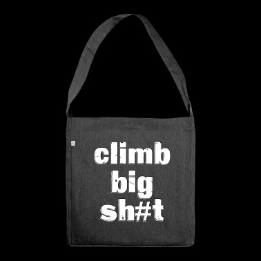 Climb - Shoulder Bag made from recycled material