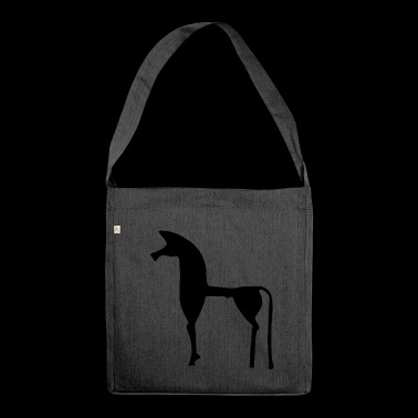 The Greek horse - Shoulder Bag made from recycled material
