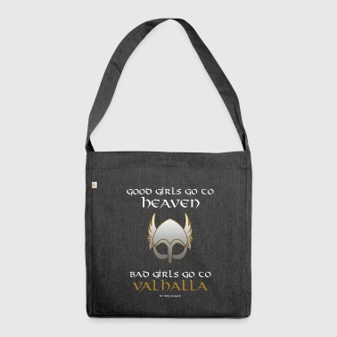 Bad Girls Go to Valhalla - Shoulder Bag made from recycled material
