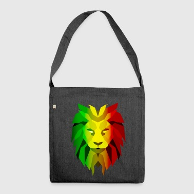 Rasta Lion - Shoulder Bag made from recycled material