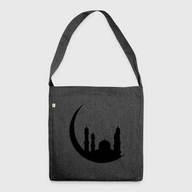 Islam Mosque Half Moon Orient - Shoulder Bag made from recycled material