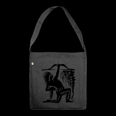 American Indian - Shoulder Bag made from recycled material