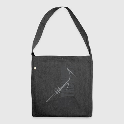 Jazz Trumpet - Shoulder Bag made from recycled material