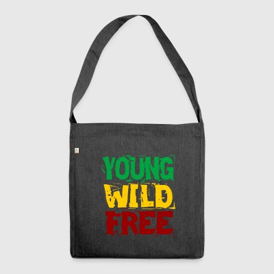 Young Wild Free - Shoulder Bag made from recycled material