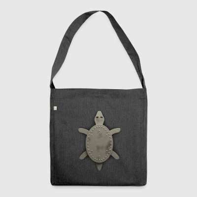 iron turtle - Shoulder Bag made from recycled material