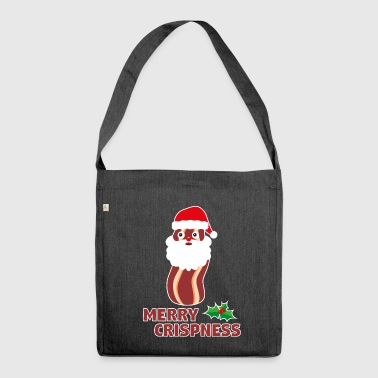 Hohoho - Merry Crispness - Shoulder Bag made from recycled material