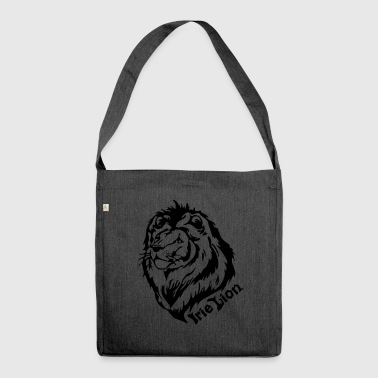 Irie Lion - Lion of Rastafari - Shoulder Bag made from recycled material