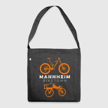 BIKETOWN MANNHEIM - Shoulder Bag made from recycled material