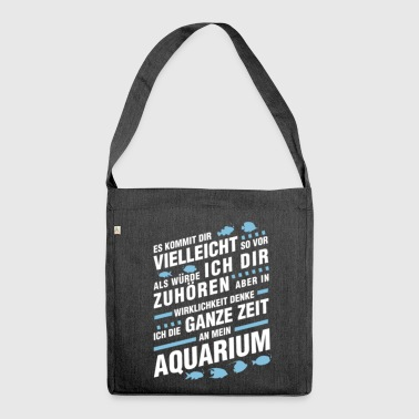 Aquarium - Fan - Sac bandoulière 100 % recyclé