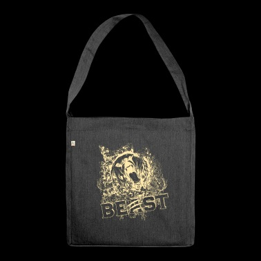 Roaring Beast - Shoulder Bag made from recycled material