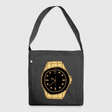 Luxury watch - Shoulder Bag made from recycled material