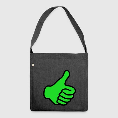 positive - Shoulder Bag made from recycled material