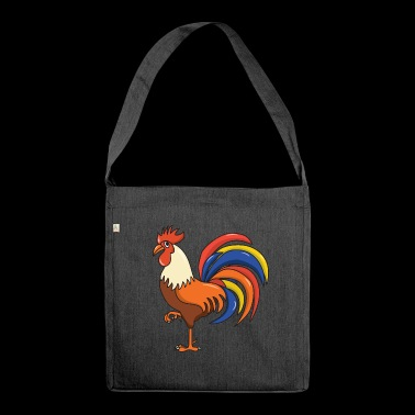 Cock cock - Shoulder Bag made from recycled material