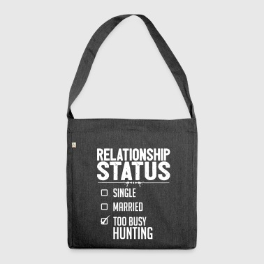 Relationship status hunting - Shoulder Bag made from recycled material