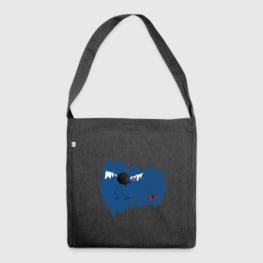 bird ketchup 2 - Shoulder Bag made from recycled material