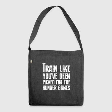 Train for the Hunger Games - Shoulder Bag made from recycled material