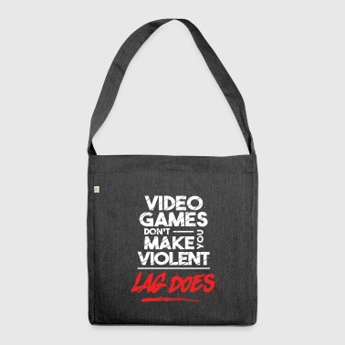 Gamer T-shirt Lag Does - Borsa in materiale riciclato