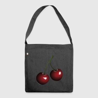 Cherries cherries - Shoulder Bag made from recycled material