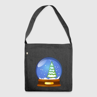 Snowball - Shoulder Bag made from recycled material