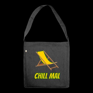 chill - deck chair - Shoulder Bag made from recycled material
