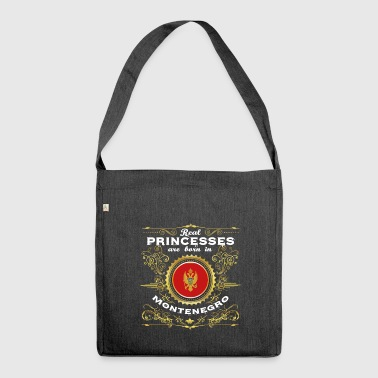 PRINCESS PRINCESS QUEEN BORN MONTENEGRO - Shoulder Bag made from recycled material