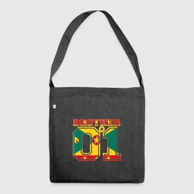 brother brother brother 01 partner Grenada - Shoulder Bag made from recycled material