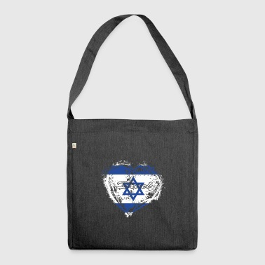 HOME ROOTS COUNTRY GIFT LOVE Israel - Schultertasche aus Recycling-Material