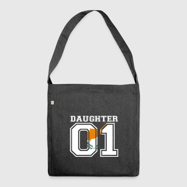 Daughter daughter queen 01 Cyprus - Shoulder Bag made from recycled material