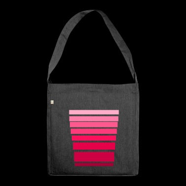 pink set - Shoulder Bag made from recycled material