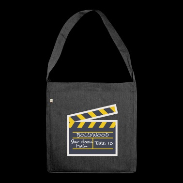 BOLLYWOOD STAR - Schultertasche aus Recycling-Material