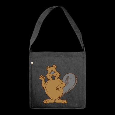 beaver - Shoulder Bag made from recycled material