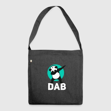dab panda touchdown Football krass Music LOL funny - Schultertasche aus Recycling-Material