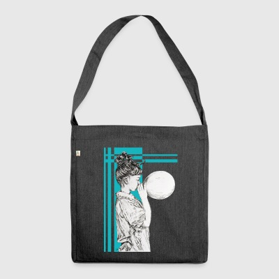 Blowing dreams - Shoulder Bag made from recycled material
