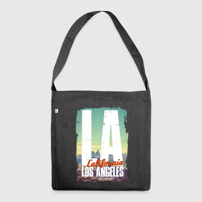 City of dreams - Shoulder Bag made from recycled material
