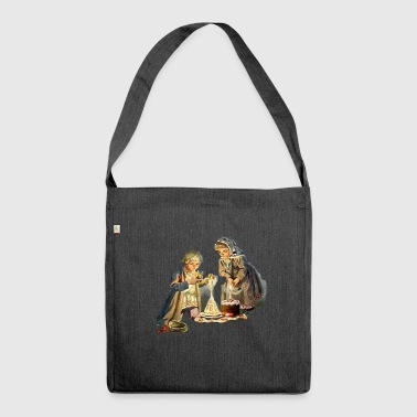 Religious - Shoulder Bag made from recycled material