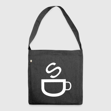 Cafe | Coffee | Bistro | Restaurant | Kaffetasse - Shoulder Bag made from recycled material