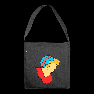 cleaning cleaning cleaning woman broom wischmop35 - Shoulder Bag made from recycled material