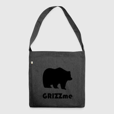 grizzly blak - Shoulder Bag made from recycled material