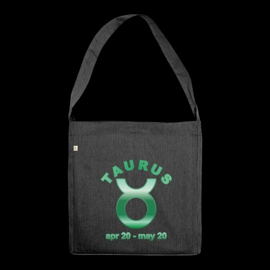 Taurus Horoscope - Shoulder Bag made from recycled material