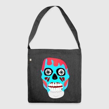 They Live - Skull - Obey Consume Watch TV - Shirt - Shoulder Bag made from recycled material