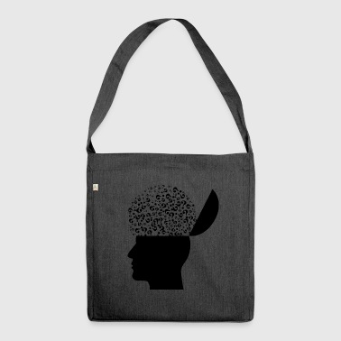 Mental-Health - Schultertasche aus Recycling-Material