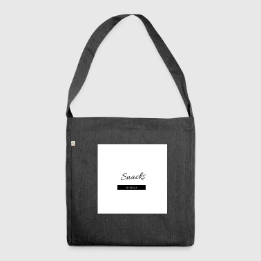 Snacks on decks - Shoulder Bag made from recycled material