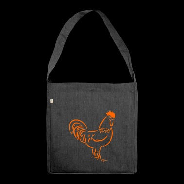 rooster - Shoulder Bag made from recycled material
