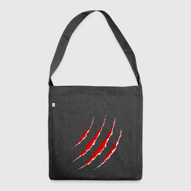 Scars - Shoulder Bag made from recycled material