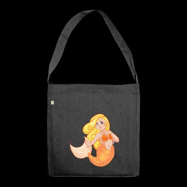 Sirene - Schultertasche aus Recycling-Material