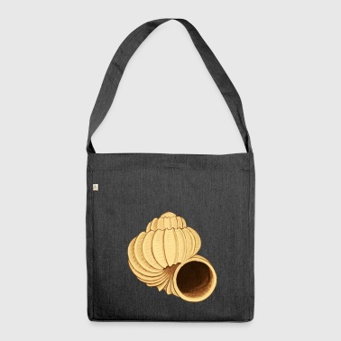 Jewelry seashell - Shoulder Bag made from recycled material