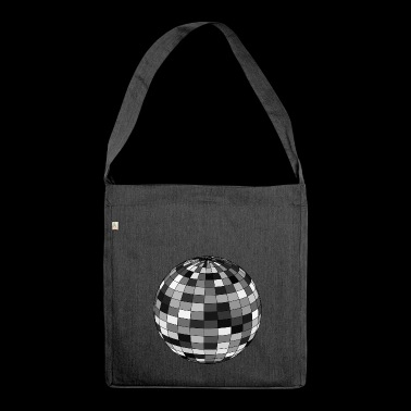 Disco ball - Shoulder Bag made from recycled material