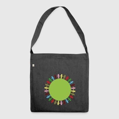 Community Circle - Shoulder Bag made from recycled material