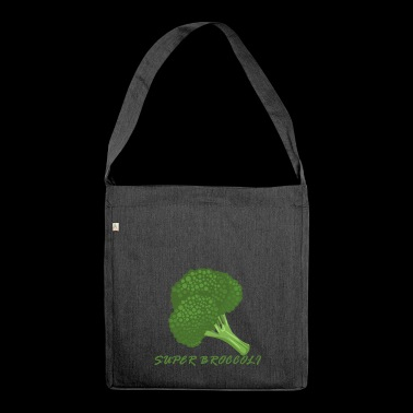 Great broccoli - Shoulder Bag made from recycled material